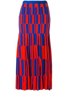 юбка с геометрическим узором Proenza Schouler
