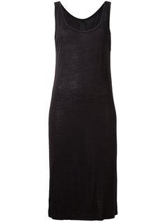 платье без рукавов  Thom Krom