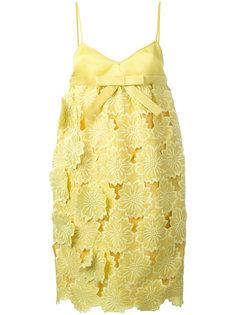 мини-платье с завышенной талией Rochas