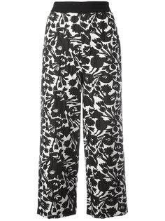 укороченные брюки с цветочным принтом IM Isola Marras