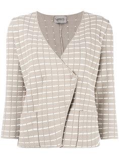 приталенный пиджак с запахом Armani Collezioni
