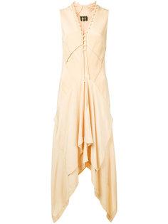 драпированное платье  Kitx