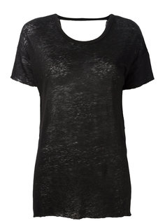 футболка с открытой спиной Thom Krom