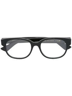 очки с овальной оправой Gucci Eyewear