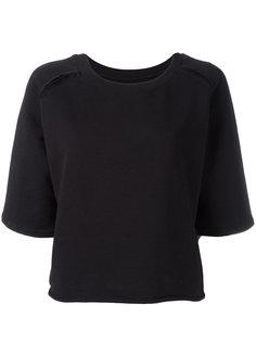 расклешенная футболка Thom Krom