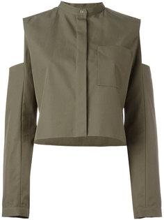пиджак с вырезами на плечах Maison Rabih Kayrouz