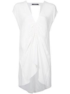 блузка с присборенной отделкой Kitx