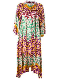 платье шифт с абстрактным принтом Tsumori Chisato