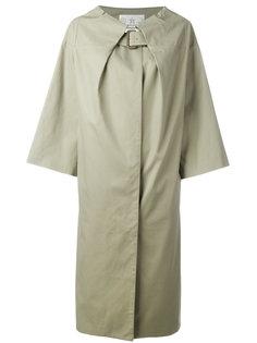 пальто с поясом на горловине Tsumori Chisato