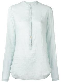 прозрачная рубашка с планкой на пуговицах Forte Forte