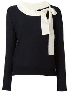 свитер с завязками на горловине Sonia Rykiel