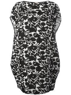 платье шифт с цветочным принтом IM Isola Marras