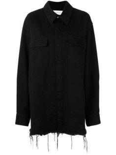 удлиненная джинсовая куртка  Marquesalmeida