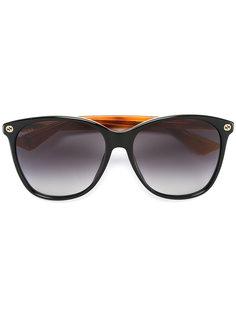 солнцезащитные очки с массивной оправой Gucci Eyewear
