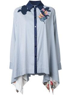 длинная рубашка с аппликацией Antonio Marras