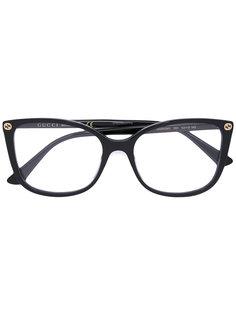 очки с квадратной оправой Gucci Eyewear