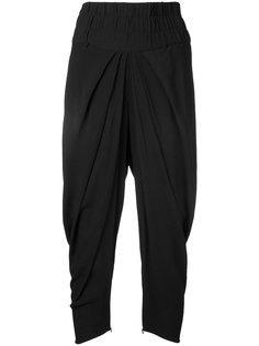 драпированные укороченные брюки Kitx