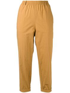 укороченные брюки свободного кроя Forte Forte
