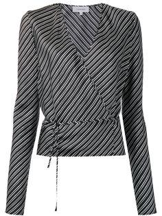 полосатая блузка с запахом Carven