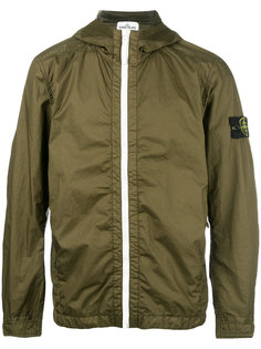 куртка на молнии с капюшоном Stone Island