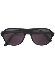 солнцезащитные очки с матовой оправой Lesca