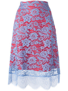 юбка с кружевной отделкой Altuzarra