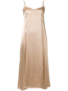платье миди с тонкими бретелями Forte Forte