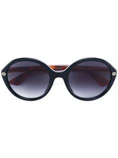солнцезащитные очки с круглой оправой Gucci Eyewear