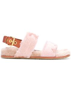 сандалии с ремешком на пятке Car Shoe