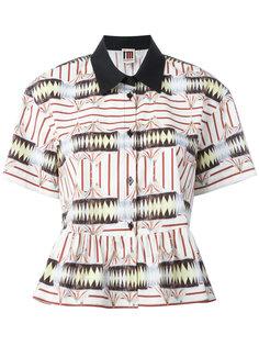 рубашка с рисунками и оборкой IM Isola Marras
