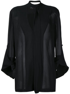 рубашка с плиссировкой на спине Kitx