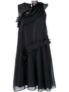 мини-платье с рюшами Carven