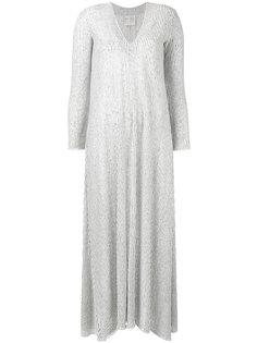 полосатое платье шифт  Forte Forte