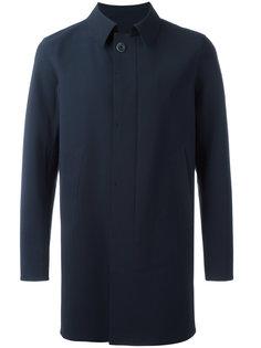 пальто миди с потайной застежкой Herno