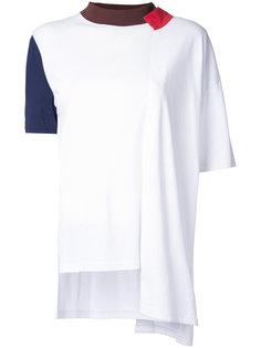 футболка с контрастными панелями Enföld