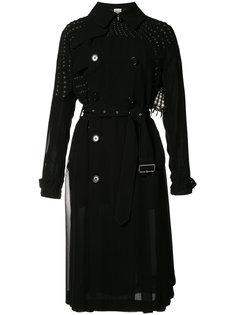 studded detail double-breasted coat Comme Des Garçons Noir Kei Ninomiya