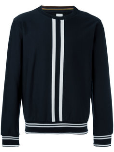vertical stripe sweatshirt Paul Smith