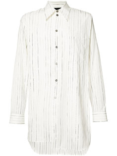 striped long shirt Ann Demeulemeester Grise