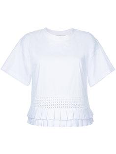 frill-hem blouse Capucci