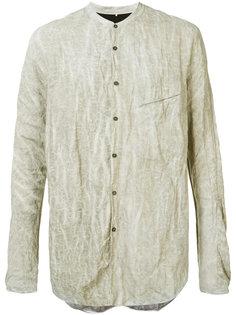ruched effect shirt Ziggy Chen