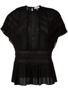 pleated trim top  Iro