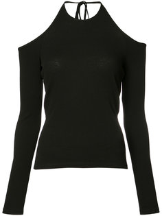 cut-out knitted top Rosetta Getty