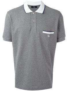 chest pocket polo shirt Fay