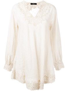 floral lace blouse Steffen Schraut