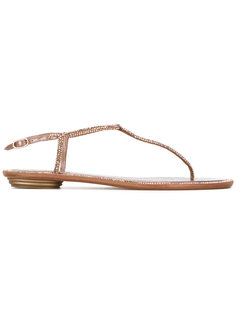crystal strap sandals René Caovilla