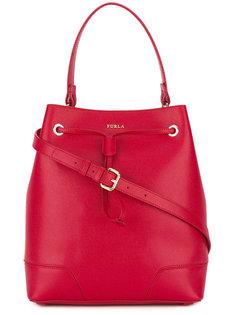 сумка-ведро со съемным плечевым ремнем Furla