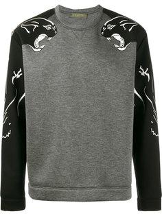 panther print sweatshirt Valentino