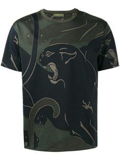 футболка с принтом пантеры Rockstud Valentino