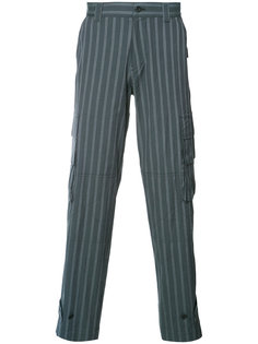 cargo pocket striped trousers Undercover