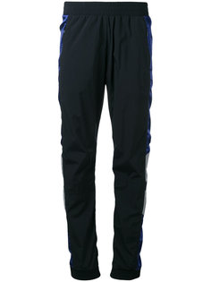 contrast panel track trousers Paco Rabanne